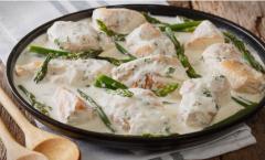Пилешко на италијански начин