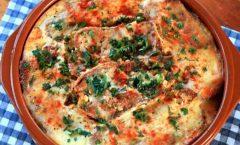 Предлог за денешниот ручек: Мусака од тиквички и модар патлиџан