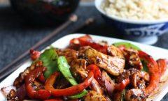 Пилешко на кинески начин